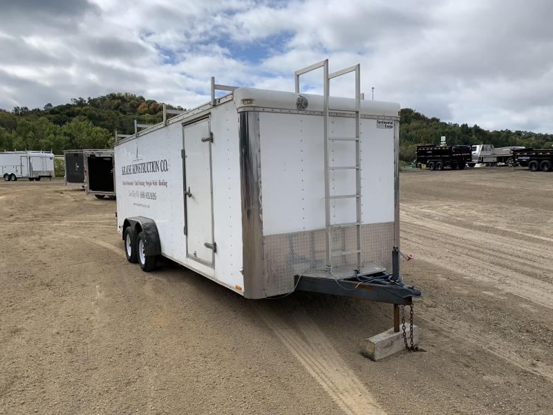 2002 Coca 7X22 Enclosed Cargo Trailer