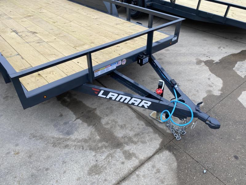 2021 Lamar Trailers 83X14 Utility Trailer