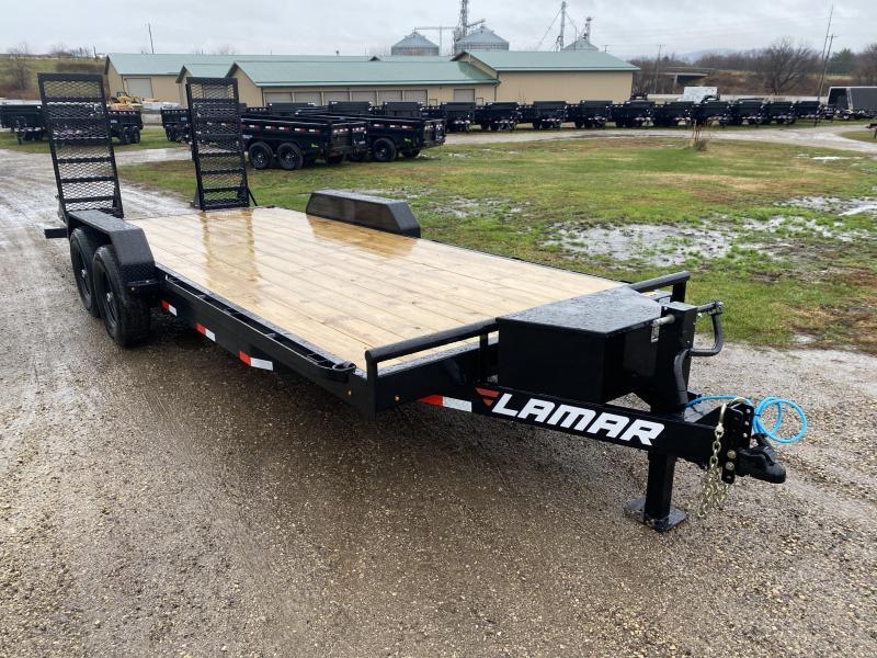 2021 Lamar Trailers 83X20 Car Hauler