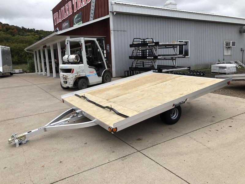 2021 Triton 101X10 2 Place Snowmobile Trailer
