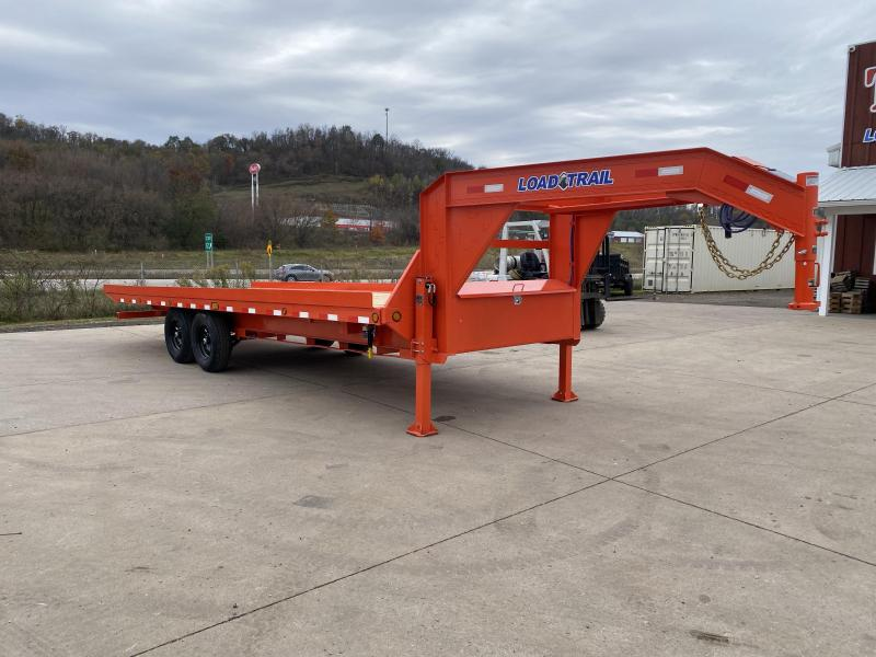 2021 Load Trail 102X24 Gooseneck Tilt Deck Equipment Trailer