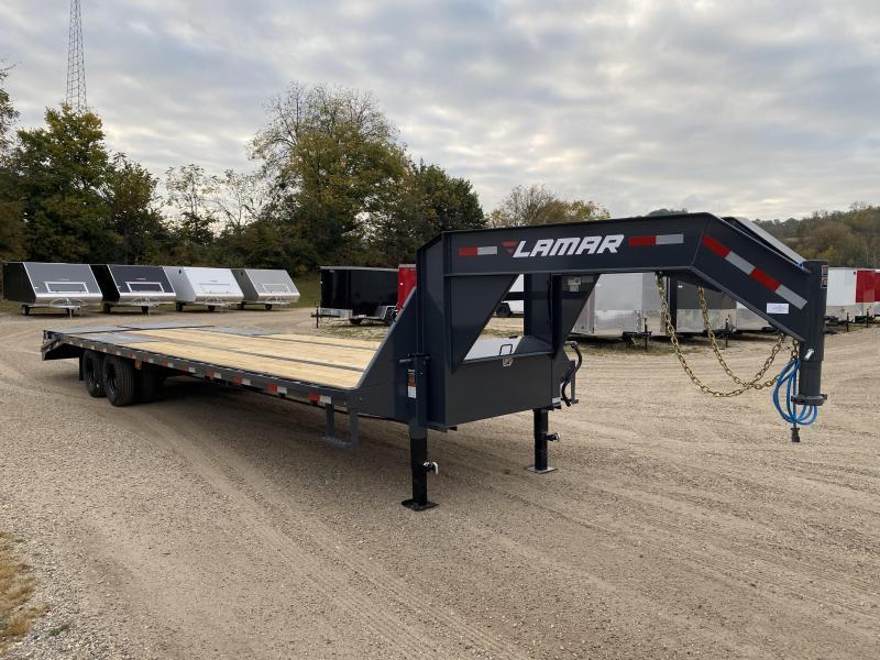 2021 Lamar Trailers 102X32 Gooseneck Deckover Equipment Trailer