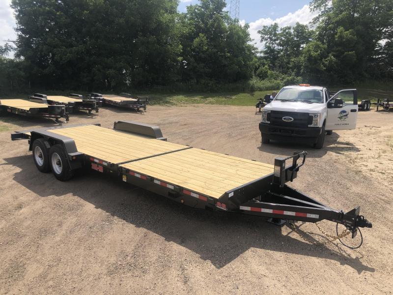 2021 B-B 83X24 Gravity Tilt Deck Equipment Trailer