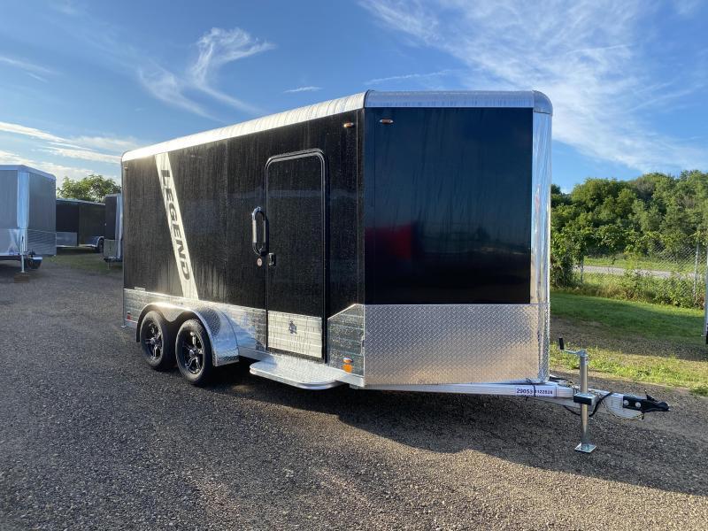 2021 Legend Trailers 7X14 Aluminum DVN Enclosed Cargo Trailer