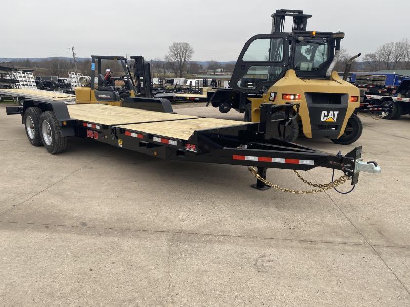 2021 B-B 83X22 Tilt Deck Equipment Trailer