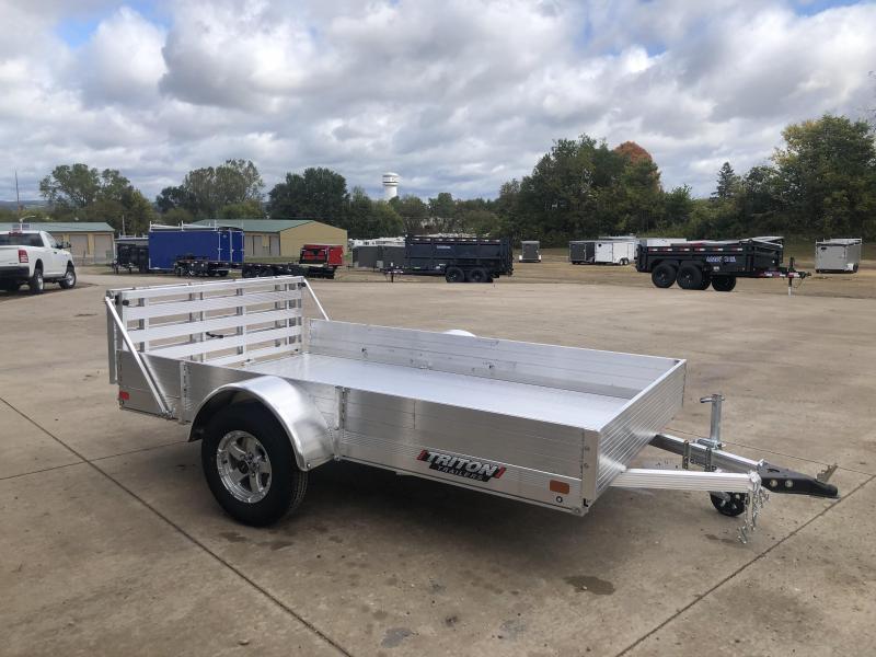 2021 Triton 72X10 Aluminum Utility Trailer