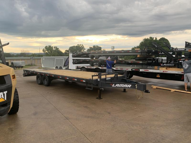 2021 Lamar Trailers 102X24 Deckover Equipment Trailer