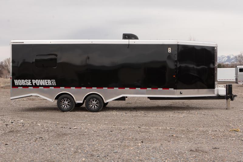 2021 Logan Coach Horsepower 29' ZBROZ Package Snowmobile Trailer