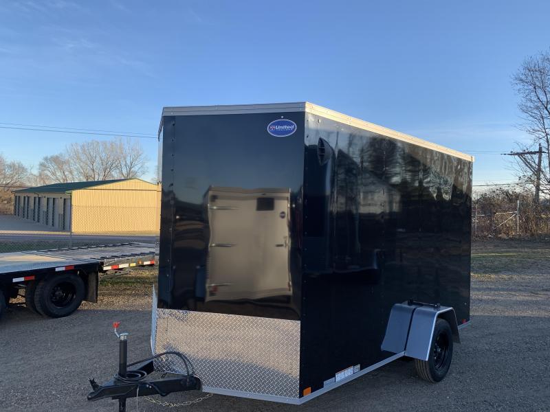 2021 United Trailers 7X12 Enclosed Cargo Trailer