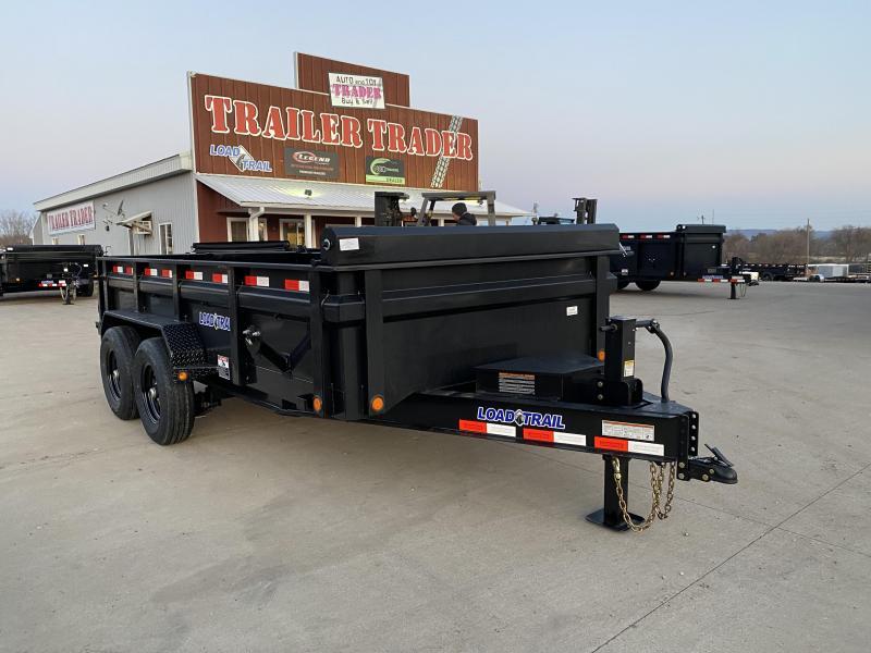 2021 Load Trail 83X14 Low Pro Dump Trailer