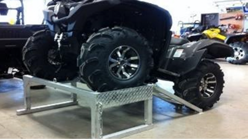 2021 Marlon Trailers UTV Rack ATV Truck Box Riser Truck Bed