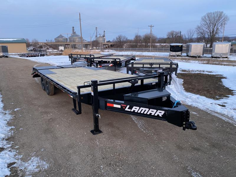 2021 Lamar Trailers 102X22 Deckover Equipment Trailer