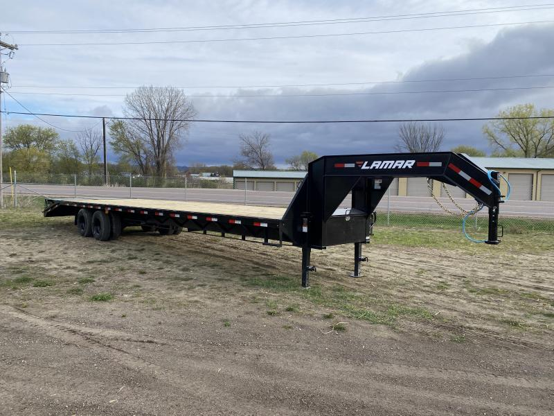 2021 Lamar Trailers 102X36 Gooseneck Deckover Equipment Trailer