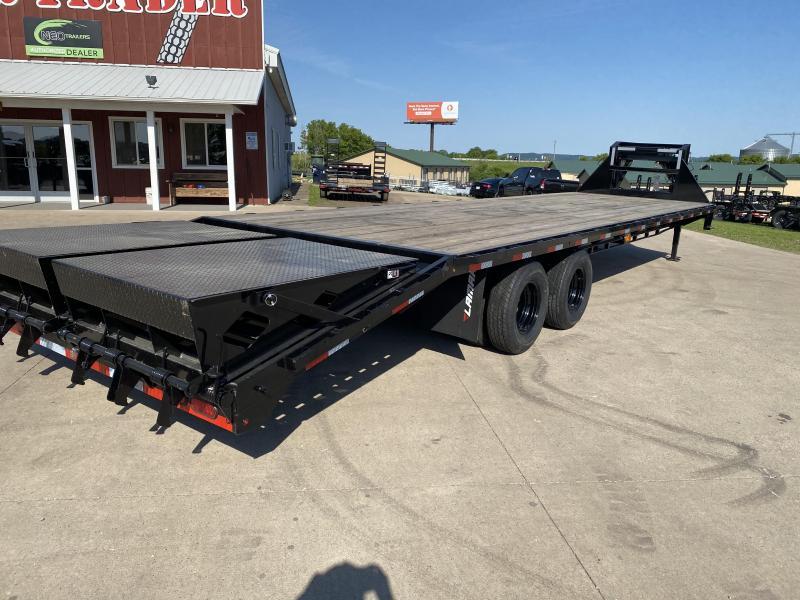 2020 Lamar Trailers 102X32 Gooseneck Deckover Equipment Trailer