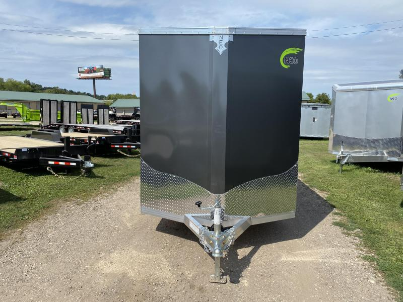 2021 NEO Trailers 6X14 Aluminum Enclosed Cargo Trailer