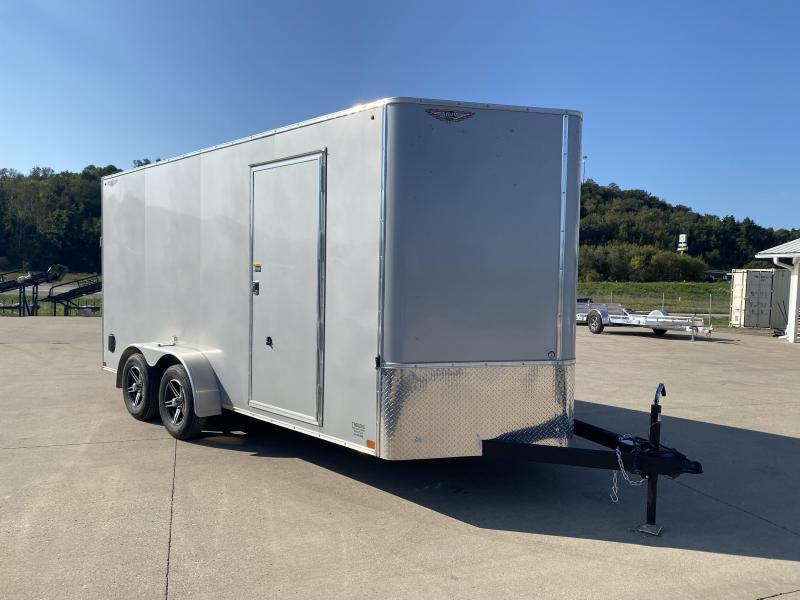 2021 H&H Trailers 7X16 Enclosed Cargo Trailer