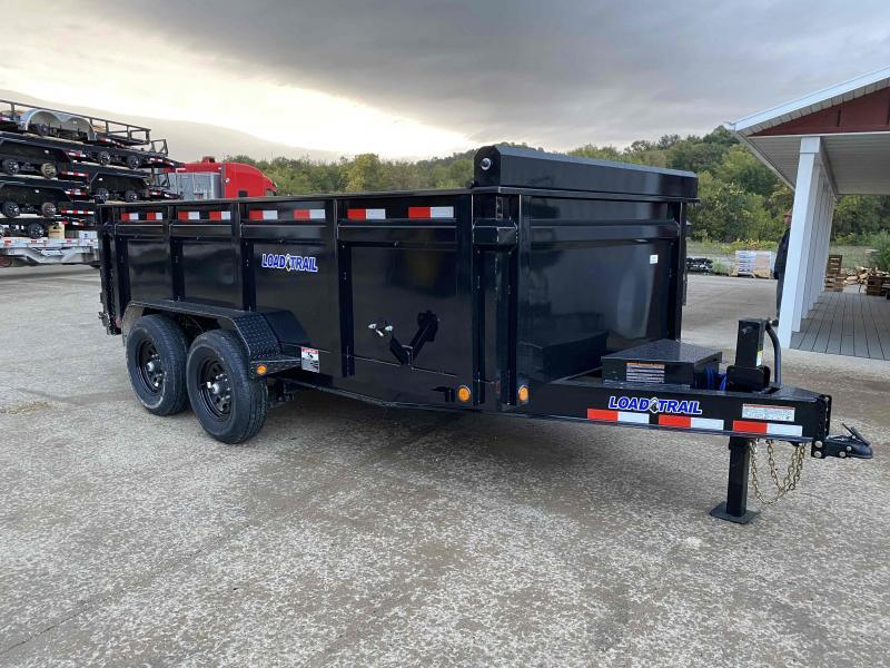 2021 Load Trail 83X14 Low Pro Dump Trailer