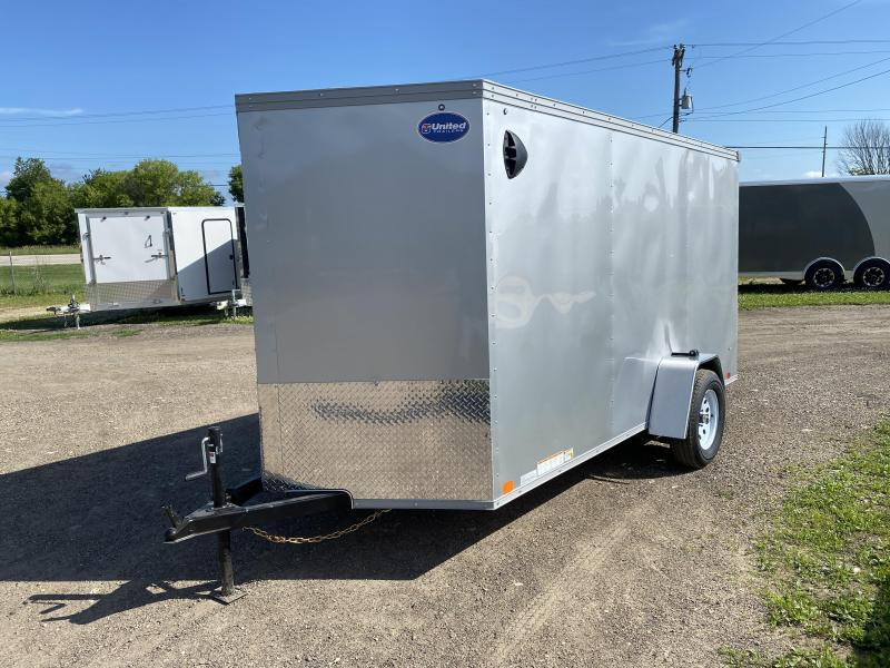 2021 United Trailers 6X12 Enclosed Cargo Trailer