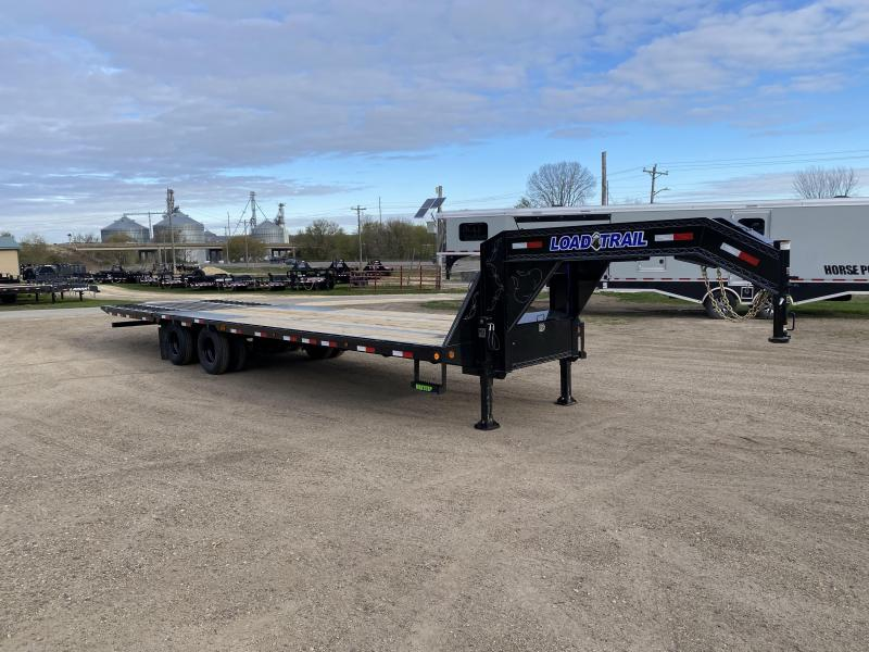 2021 Load Trail 102X32 Gooseneck Hydro Dove Equipment Trailer