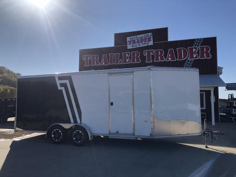 2019 NEO Trailers 7X23 Inline Snowmobile Trailer