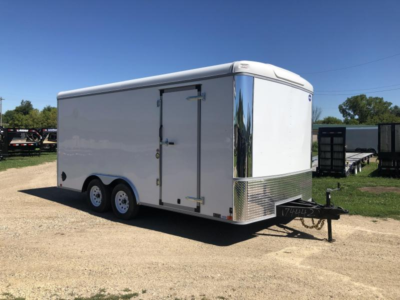 2021 United Trailers 8.5X16 Enclosed Cargo Trailer