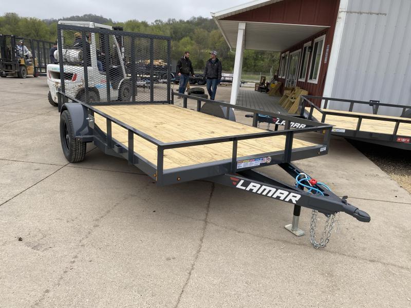 2022 Lamar Trailers 83X12 Utility Trailer