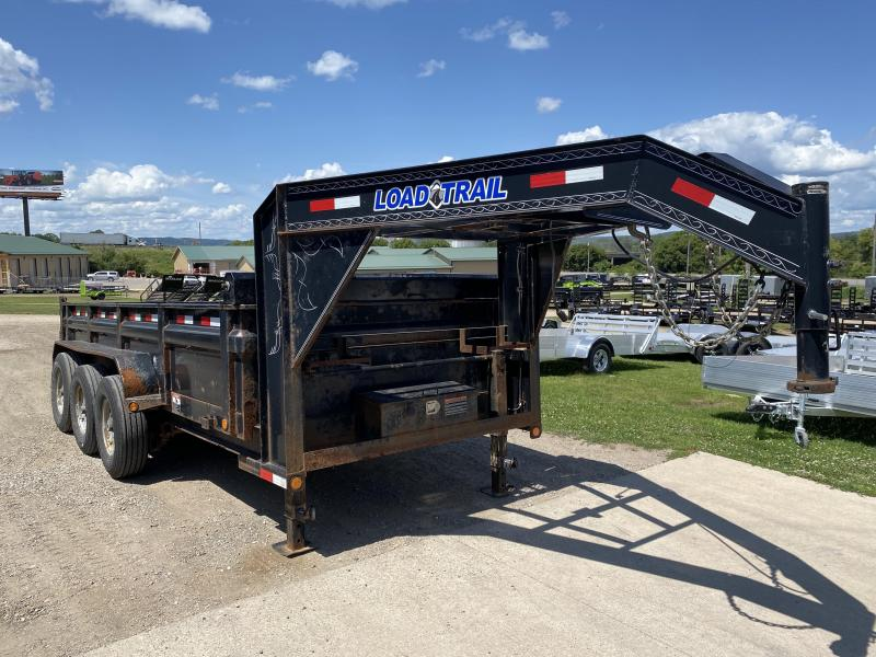 2014 Load Trail 83X16 Gooseneck Dump Trailer