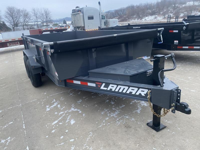 2021 Lamar Trailers 83X14 Dump Trailer