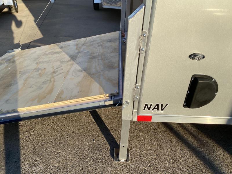 2021 NEO Trailers 6X10 Aluminum Enclosed Cargo Trailer