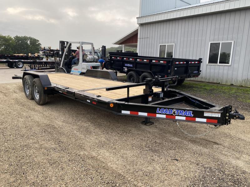 2022 Load Trail 83X20 Gravity Tilt Deck Equipment Trailer