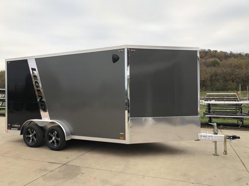 2022 Legend Trailers 7.5X19 Explorer Snowmobile Trailer