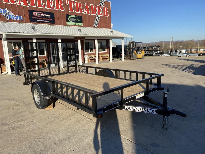 2020 Performance Trailers 83X12 Utility Trailer