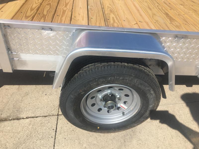2021 Rugged Terrain 6X10 Aluminum Utility Trailer
