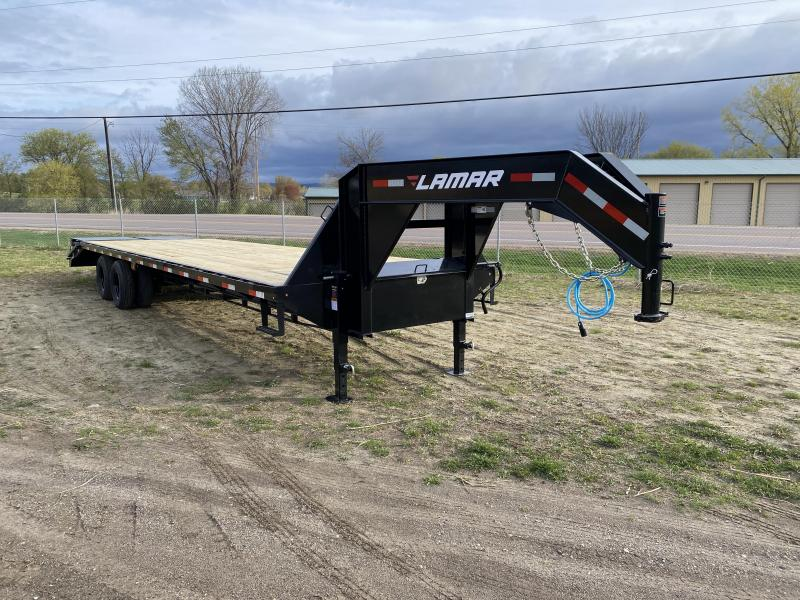 2021 Lamar Trailers 102X32 Gooseneck Deckover Equipment Trailer