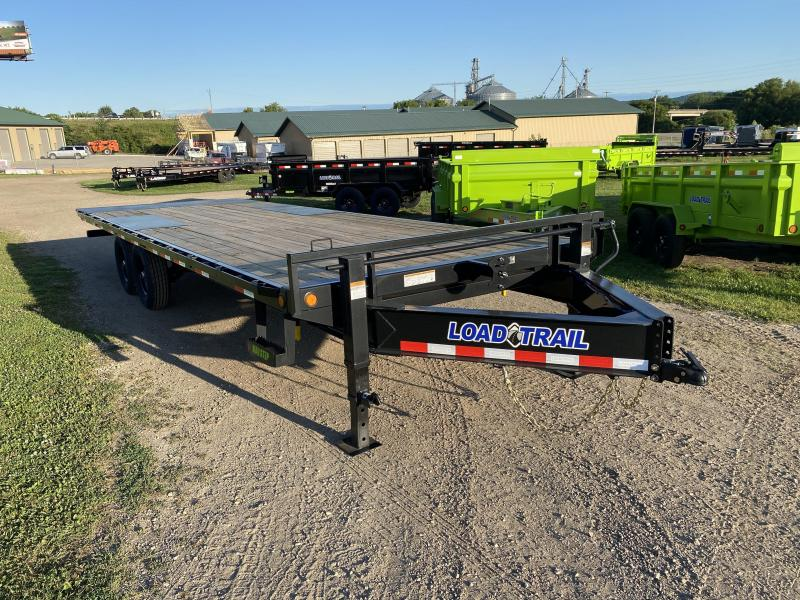2021 Load Trail 102X24 Power Tilt Equipment Trailer