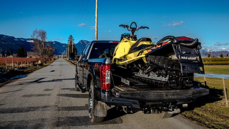 2021 Sled Deck Marlon Trailers Single Load Truck Bed