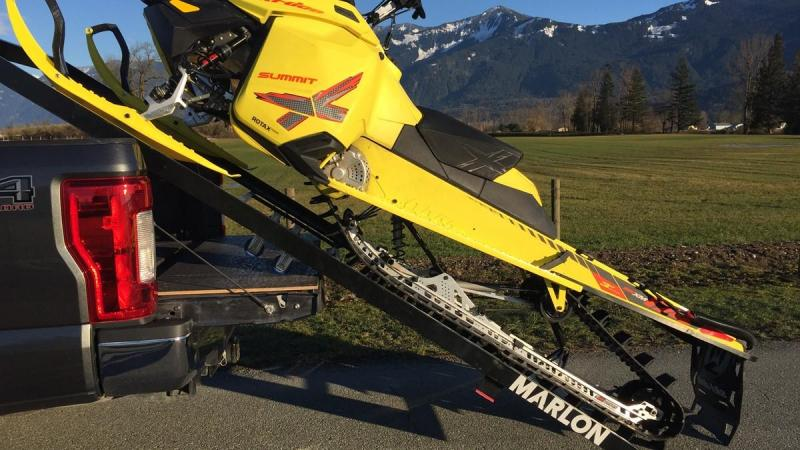 2021 Sled Deck Marlon Trailers Single Load Truck Bed