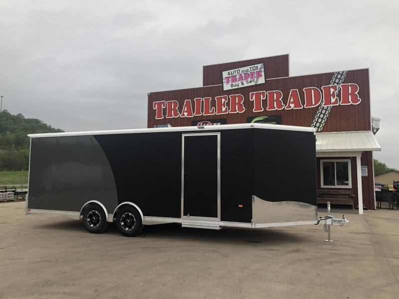 2020 NEO Trailers 8.5X22 Aluminum Enclosed Cargo Trailer