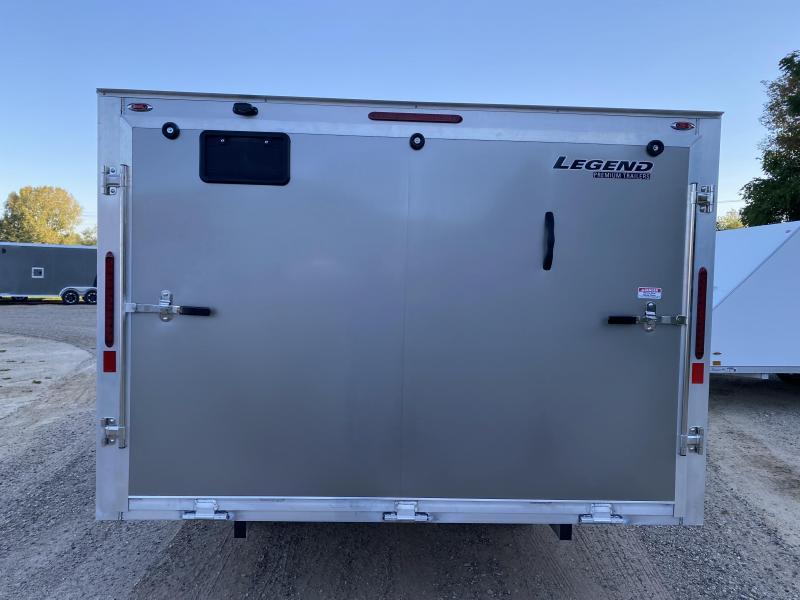 2022 Legend Trailers 102X12 Hybrid Snowmobile Trailer