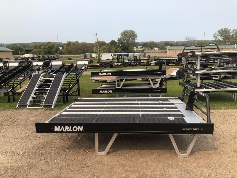 2021 Sled Deck Marlon Trailers 8' Xplore Pro Truck Bed