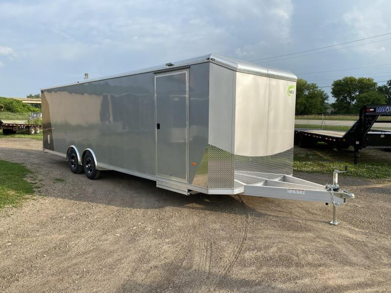 2021 NEO Trailers 8.5X28 Aluminum Enclosed Cargo Trailer