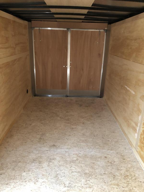 2021 MTI Trailers 7x16 BARN  Enclosed