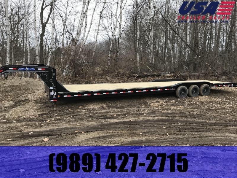 2021 Load Trail 40 Goose  Equipment Trailer