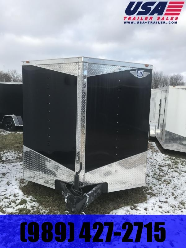 2020 MTI Trailers 7x16 Black Barn Enclosed Cargo Trailer