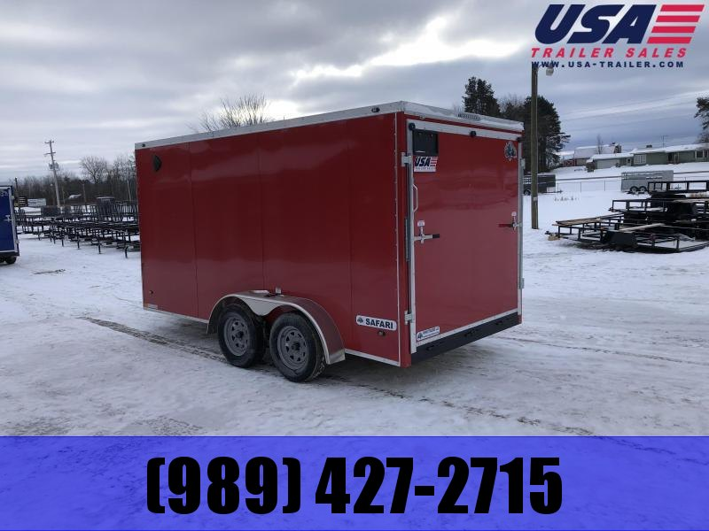 "2021 Rhino Trailers SAFARI 7X16 78"" Enclosed Cargo Trailer"