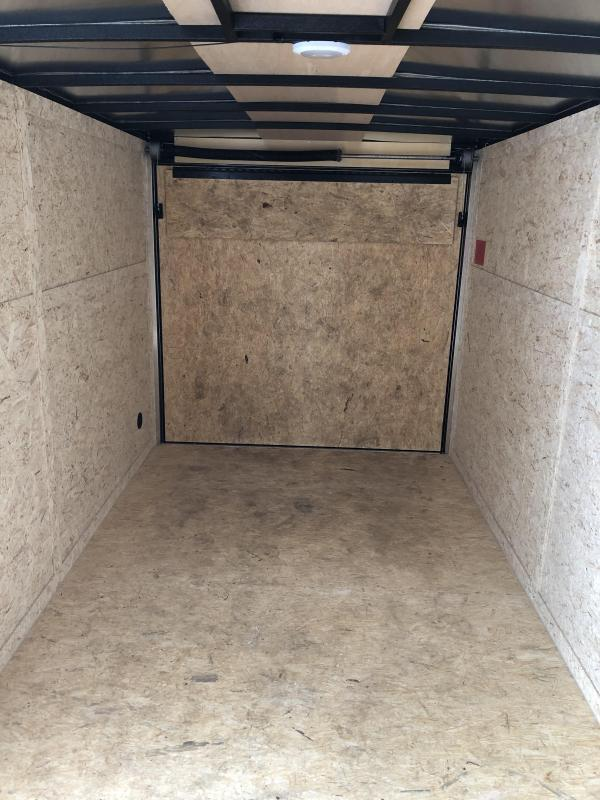 "2021 Rhino Trailers SAFARI 7X14 78"" Enclosed Cargo Trailer"