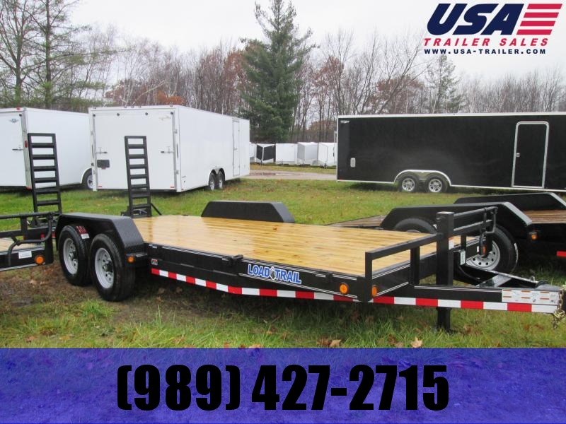 2021 Load Trail 83 x 18 skidsteer Equipment Trailer