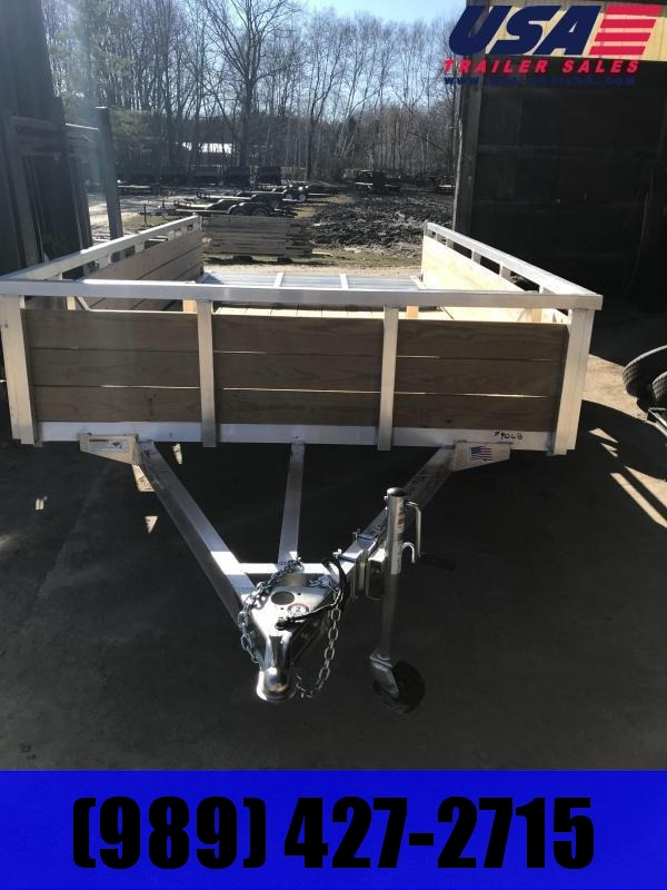 2021 H and H Trailer H8214WSA Utility Trailer