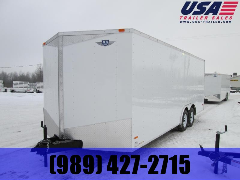2021 MTI Trailers 8.5 x 20 7K 7' interior Enclosed