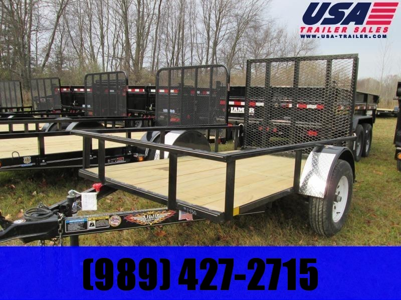 2021 H and H Trailer 76X10 Landscape Utility Trailer